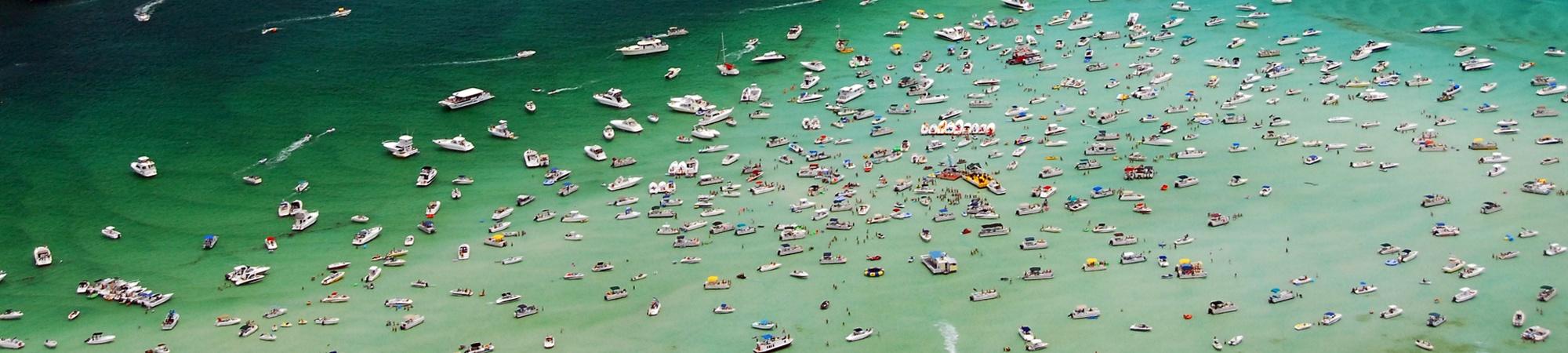 Crab Island Destin FL.