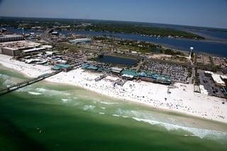 Ft. Walton Beach Aerial View