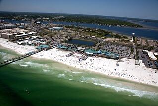 Ft. Walton Beach Aerial View