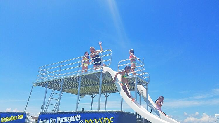 Double Decker Pontoon Boat Rental