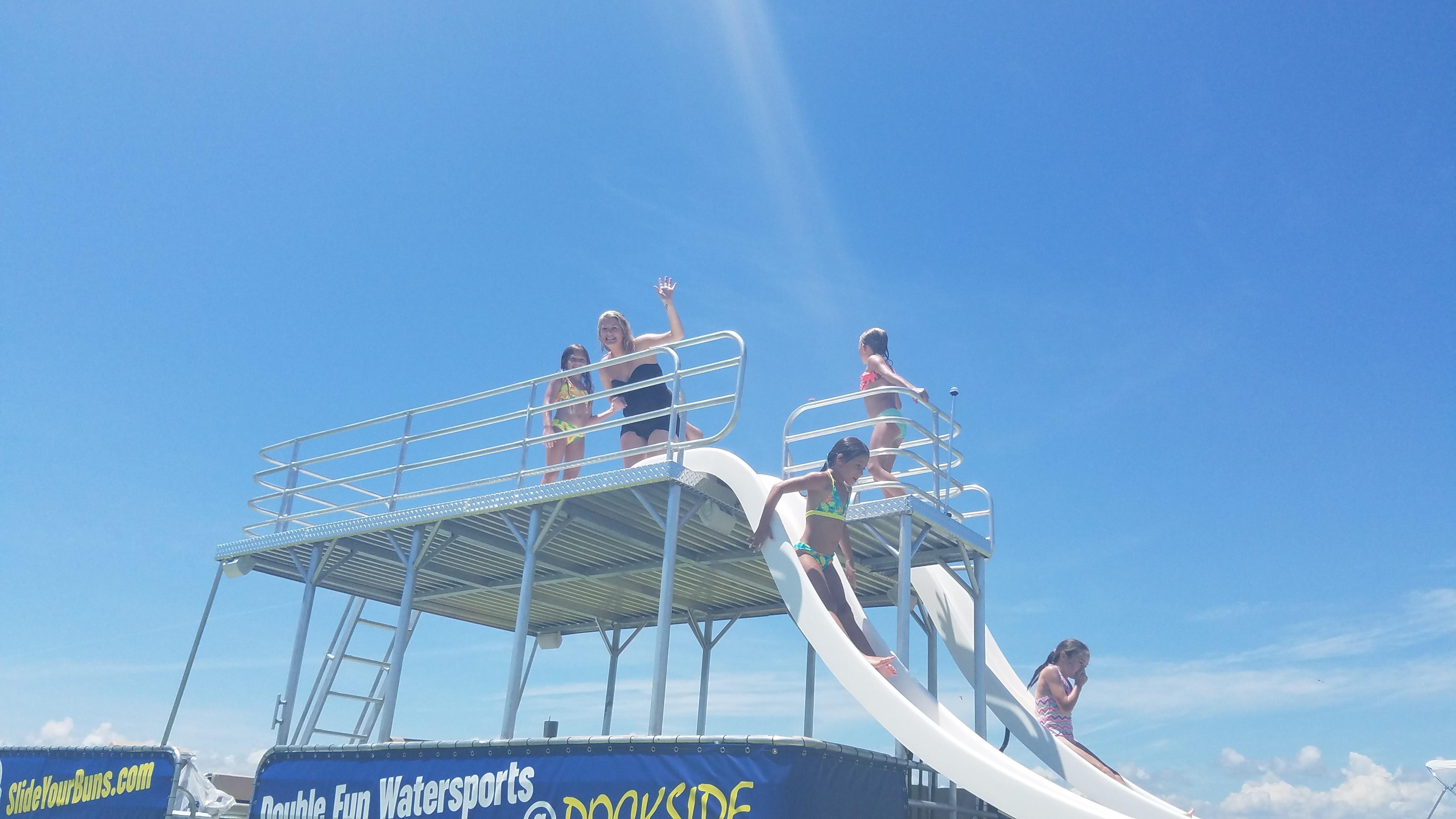Enjoying the Top Deck