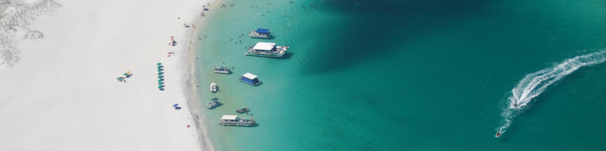 Boating in Shell Island Panama City Beach