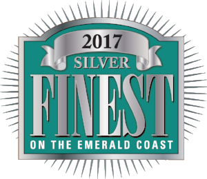 2017 Finest On The Emerald Coast Silver Award for Boat Rentals