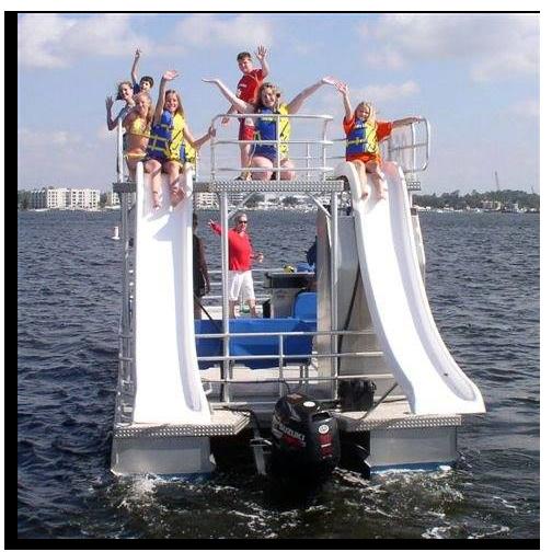 Destin Double-Decker Pontoon Boat Rental