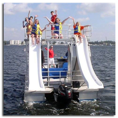 Double-Decker Pontoon Boat for Kids