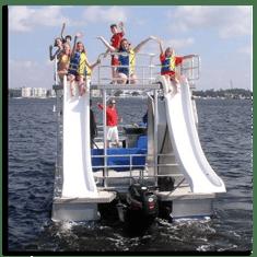 Double-Decker Pontoon Boat for Kids