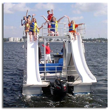 Destin Double-Decker Pontoon Boat Rental