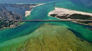 Crab Island in Destin Florida